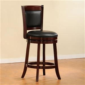 Homelegance Shapel Swivel Bar Stool,1131-24S