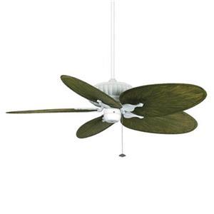 Fanimation Belleria 15-in Matte White Assembly Ceiling Fan