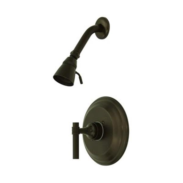 Elements of Design Milano Oil Rubbed Bronze Pressure Balanced Shower System