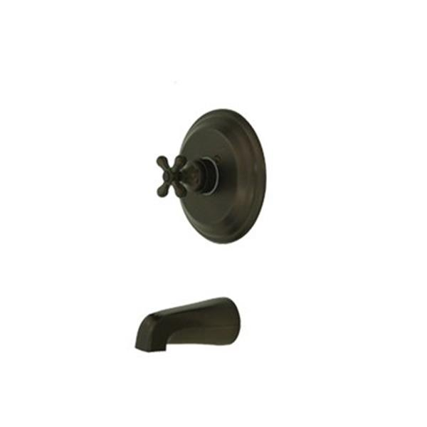 Elements of Design 7.50-in Oil Rubbed Bronze Shower Faucet Pressure Balanced Tub Spout System