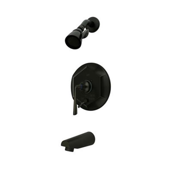 Elements of Design Copenhagen Oil-Rubbed Bronze Single Handle Tub & Shower Faucet