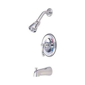 Elements of Design Chrome Pressure Balanced Tub/Shower System