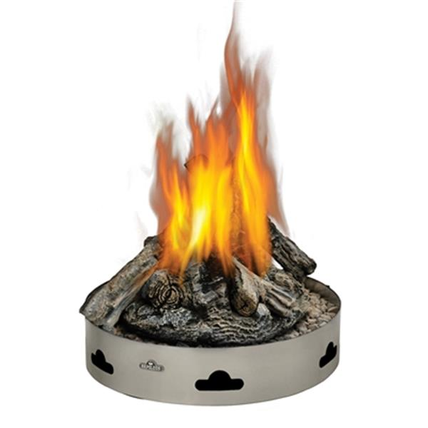 Napoleon Patioflame Round Natural Gas Fire Pit with Logs