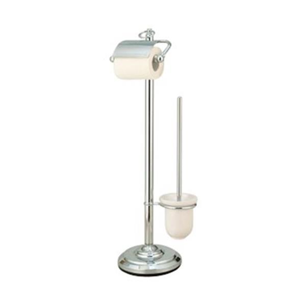 Elements  of Design DS201 Vintage Chrome Pedestal Toilet Tissue Holder