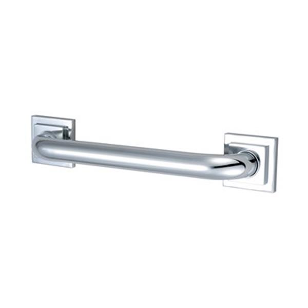 Elements of Design Claremont 34.81-in Chrome Grab Bar
