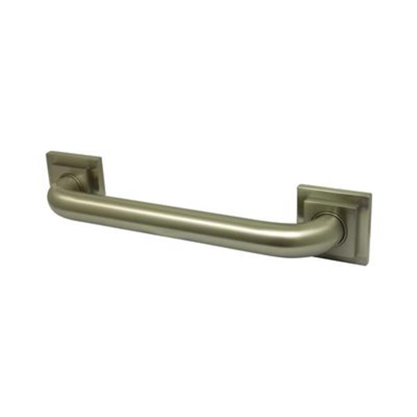 Elements of Design Claremont 34.81-in Satin Nickel Grab Bar