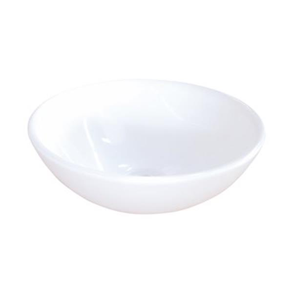 Elements of Design Serene 15.88-in x 15.88-in White Round Vessel Sink