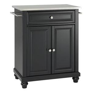 Crosley Furniture Cambridge 18-in x 28.25-in 36-in Portable Kitchen Island