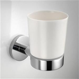 WS Bath Collections Napie Wall Mounted Single Toothbrush Holder