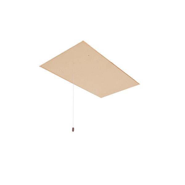 """Folding Attic Ladder - 25"""" x 54"""" - Wood - Clear"""