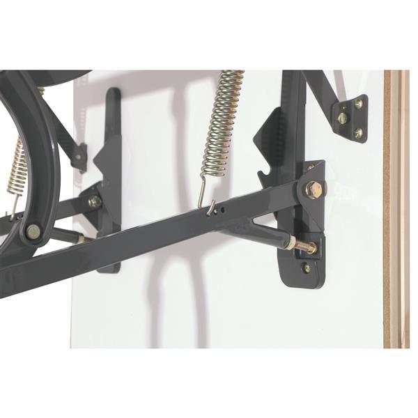 "Fakro Scissor Attic Ladder - 27.5"" x 31.5"" - Steel - Gray"