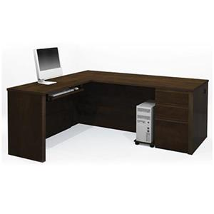 Bestar 998 Prestige + L-Shaped Workstation,99860-69