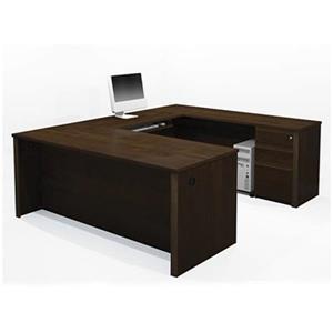 Bestar 998 Prestige + U-Shaped Workstation,99880-69
