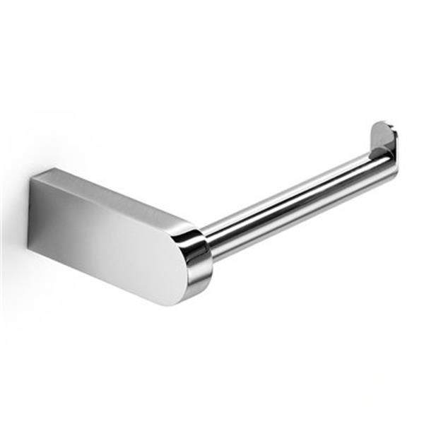 WS Bath Collections Muci 5533 Complements Polished Chrome Toilet Paper Holder