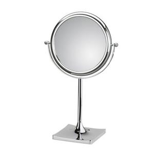 WS Bath Collections Mirror Pure lll Free Standing Magnifying/Make-Up Mirror