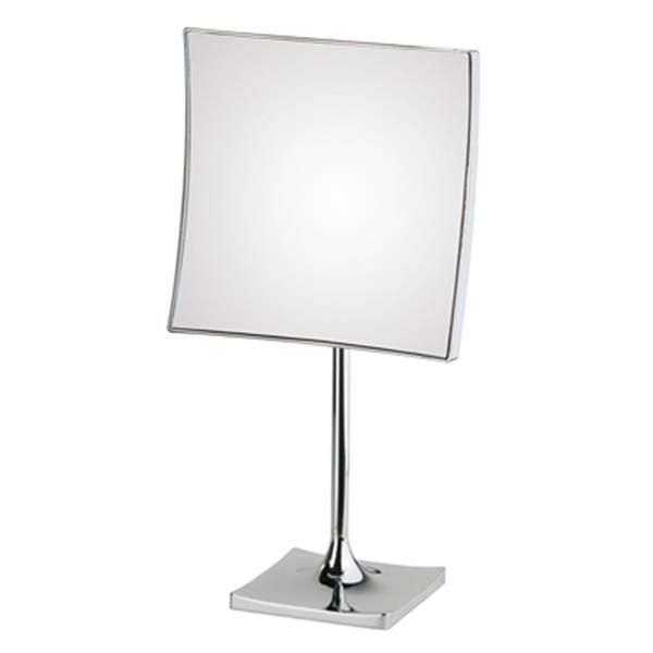 WS Bath Collections Mirror Pure lll Free Standing Magnifying Make-Up Mirror