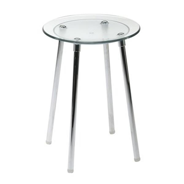 WS Bath Collections Noni 16.5-in Transparent Shower Seat