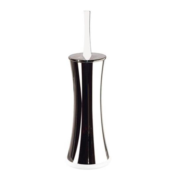 WS Bath Collections Pepe White Toilet Brush Holder