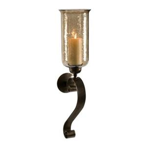 IMAX Worldwide Medium Scroll Base Wall Sconce