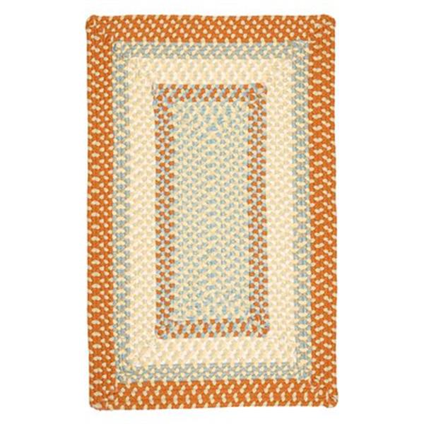 Colonial Mills Montego 2-ft x 12-ft Tangerine Indoor/Outdoor Area Rug