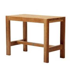 "ARB Teak & Specialties Shower Bench - 17.7"" - Teak - Brown"