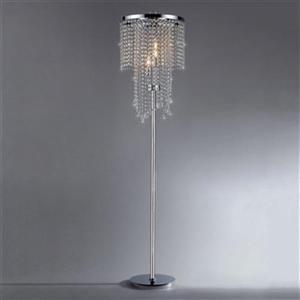 Warehouse of Tiffany Crystal Floor Lamp