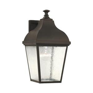 Feiss Terrace 16-in Oil Rubbed Bronze Exterior Wall Sconce.