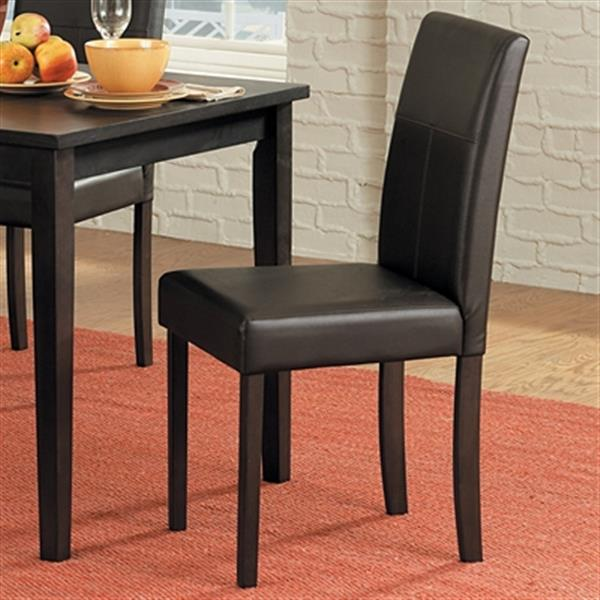Homelegance Dover 35.5-in x 17.5-in Dark Brown Dining Chair (Set of 4)