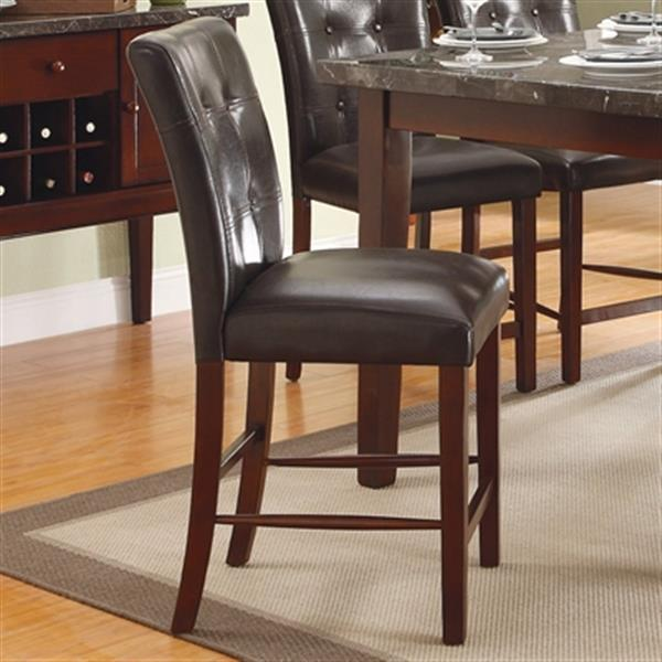 Homelegance Decatur 24-in Rich Cherry Dining Chair (Set of 2)