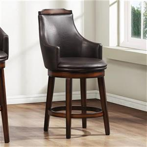 Homelegance Bayshore Swivel Dining Stool (Set of 2),5447-24S
