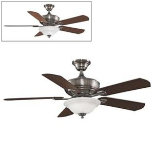Fanimation Camhaven 52-in Pewter 2-Light Ceiling Fan