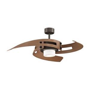 Fanimation Avaston 52-in Oil Rubbed Bronze 2-Light Ceiling Fan