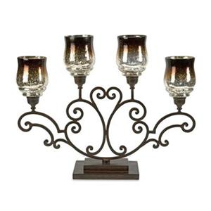 IMAX Worldwide Middleton Centerpiece Candle Holder