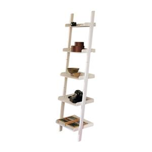 Nexxt Designs Hadfield 67-in x 18-in White 5-Tier MDF Shelf