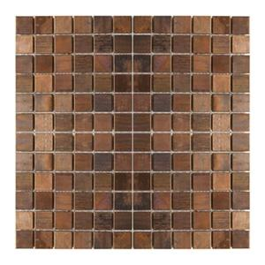 Medium Square Mosaic Tile - Antique Copper - 11-Pack