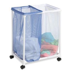 Honey Can Do Two Bag Mesh Laundry Sorter