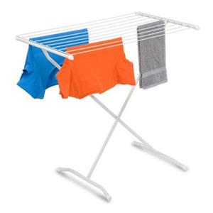 Honey Can Do DRY White X-Frame Folding Drying Rack
