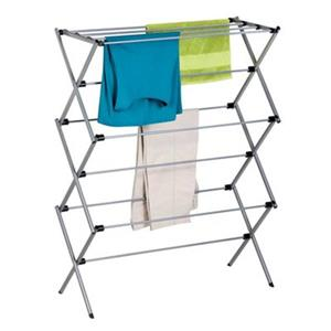 Honey Can Do DRY Silver Oversize Folding Drying Rack