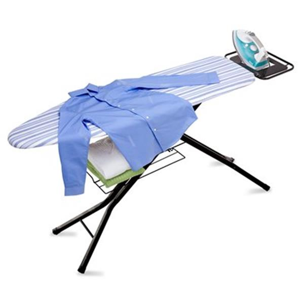 Honey Can Do 36-in x 54-in Blue Ironing Board With Deluxe Iron Rest