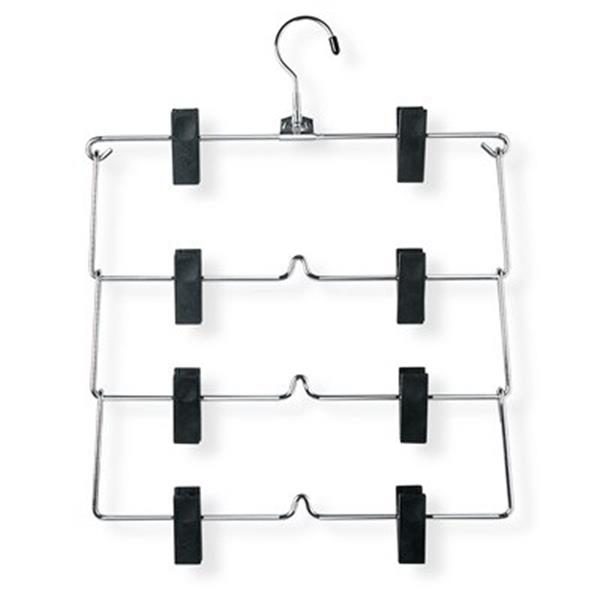 Honey Can Do Four Tier Fold Up Skirt/Pant Hanger (2-Pack)