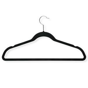Honey Can Do Black Velvet Touch Suit Hanger (9-Pack)