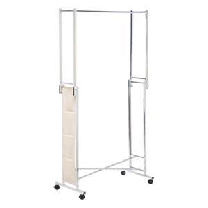 Honey Can Do Double Folding Square Tube Garment Rack,GAR-014
