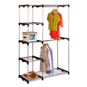 Honey Can Do WRD-02124 Double Rob Freestanding Closet,WRD-02