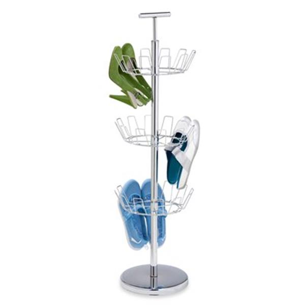 Honey Can Do 39.30-in Chrome 3 Tier Shoe Tree