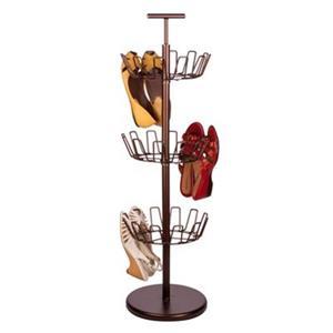 Honey Can Do 39.30-in Bronze 3 Tier Shoe Tree