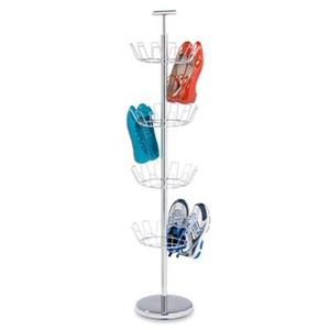 Honey Can Do 49.20-in Chrome 4 Tier Shoe Tree