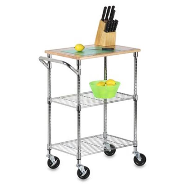 Honey Can do Urban Two Shelf Rolling Cart