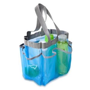 Honey Can Do Blue Mesh Shower Tote