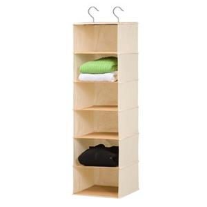 Honey Can Do Off-White 6-Shelf Hanging Organizer