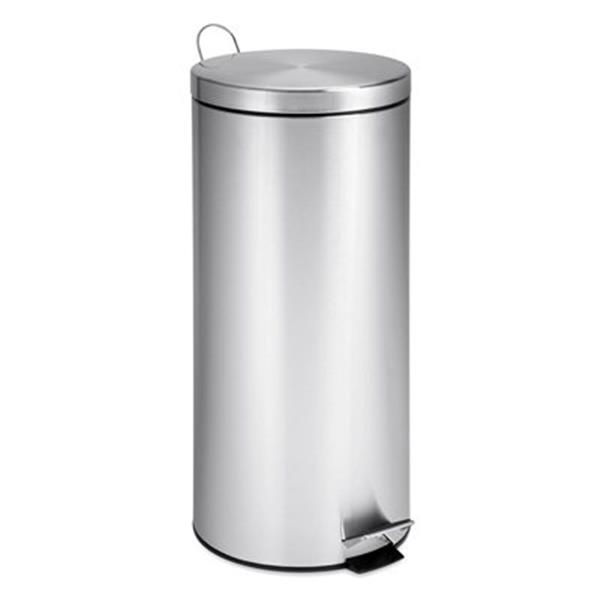 Honey Can Do 25-in x 11.50-in x11.50-in Stainless Steel Can with Bucket